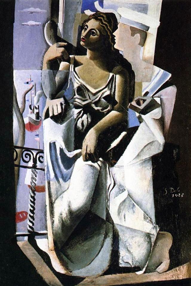 Venus and a Sailor (1), 1925   Salvador Dalí #Surrealismo