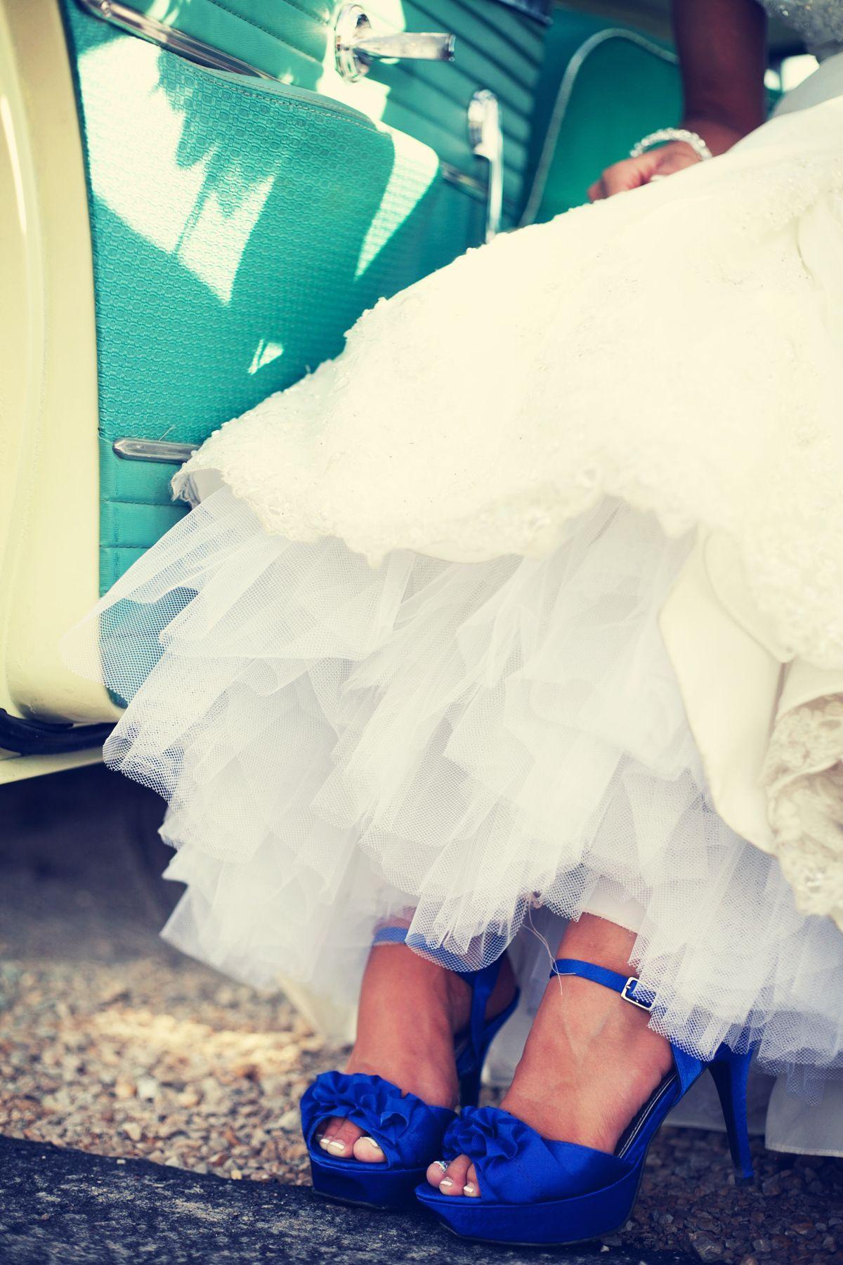 Love the blue shoes photo by ashley b weddingphotographersmn my