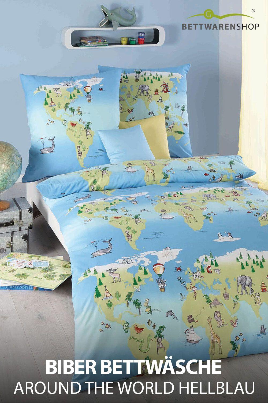 Kaeppel Biber Bettwäsche Around The World Hellblau Günstig Online Kaufen Bei Bettwaren Shop In 2021 Warme Bettwäsche Haus Deko Bettwäsche