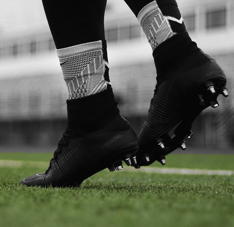 All Black Mcew Football Soccer Boots Nike Football Boots Best Soccer Cleats