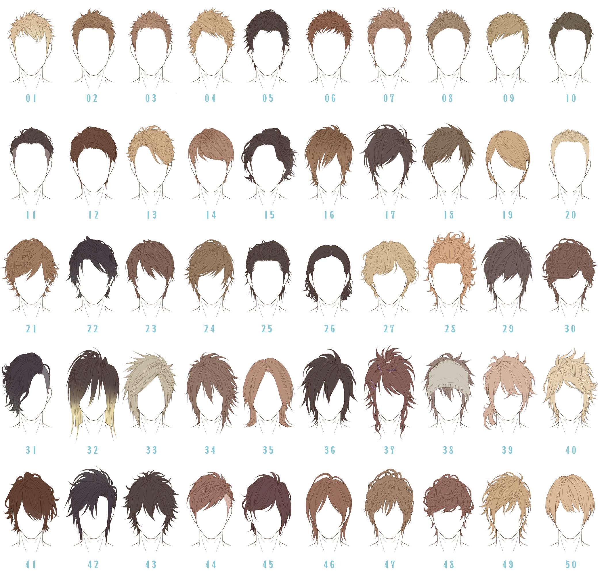 「髪型100」/「すぴ」の漫画 [pixiv]