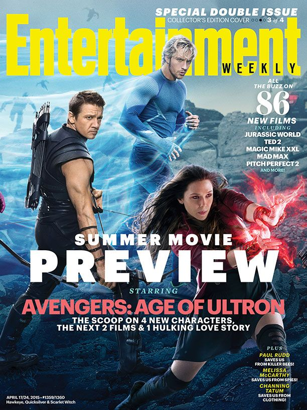 Avengers: Age of Ultron Cast Covers Entertainment Weekly