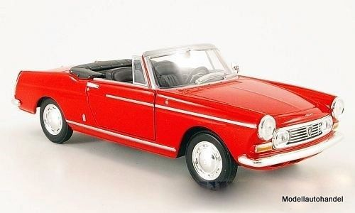 Peugeot 404 Cabriolet 1963 rot - 1:24 WELLY in Modellbau, Auto- &…