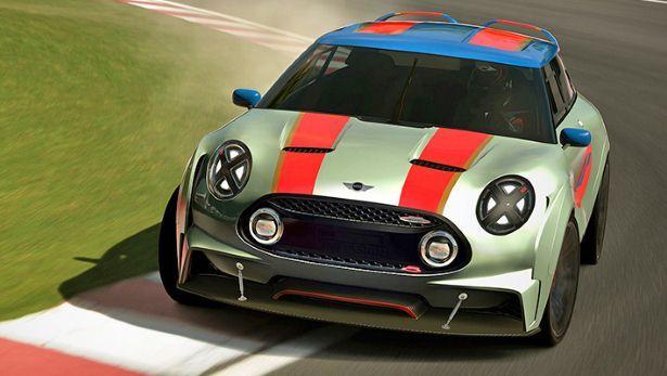 Spoiler alert! It's Mini's Vision GT Clubman - BBC Top Gear