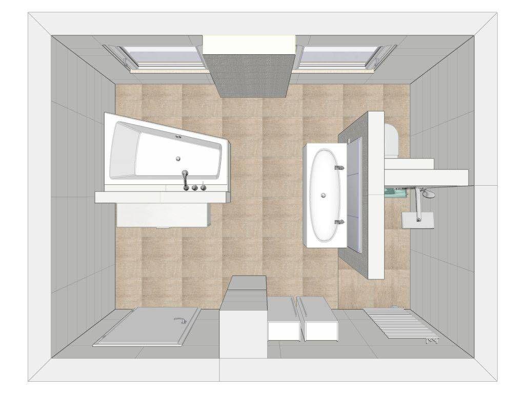 badezimmer grundriss