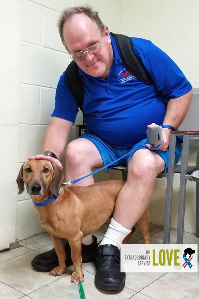 4 Year Old Peanut Just Picked Stevie Navy Veteran At Our Partners Humane Society Of Tampa Bay Petsforpatriots Navy Veteran Animal Companions Pets