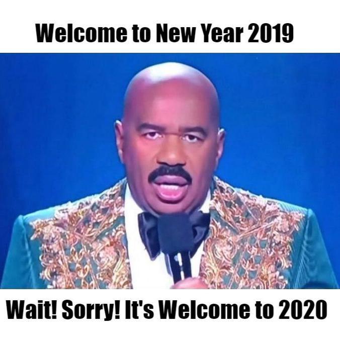 Happy New Year Funny Sarcastic 2020 Happy New Year Funny Funny New Years Memes New Year Meme