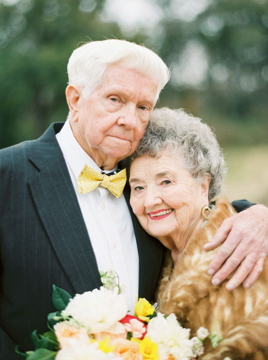 A Love Story 63 Years in the Making | Older couple wedding