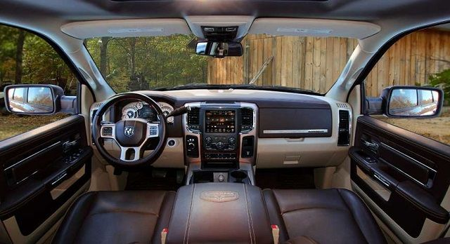 2017 Dodge Ram Power Wagon - interior | Dodge 2016/2017 ...