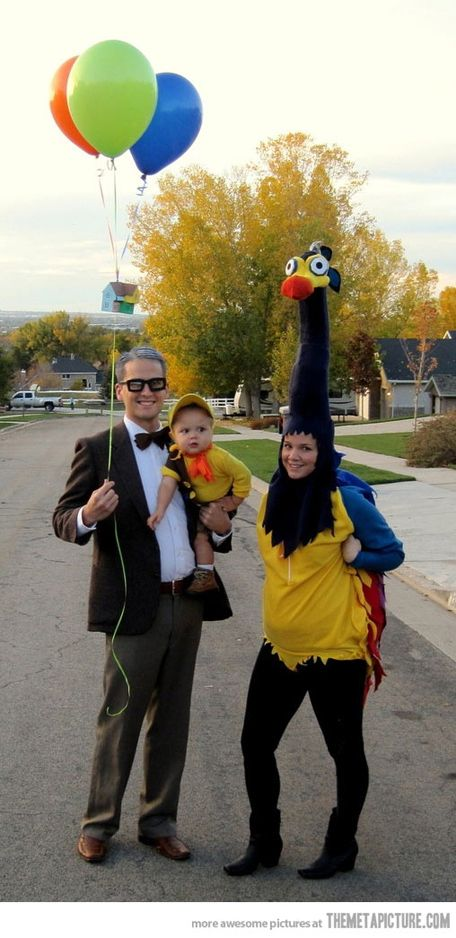 Up Pixar Halloween costume family