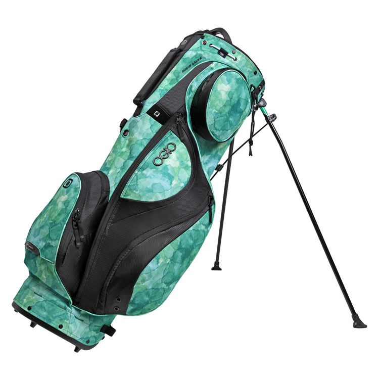 S Golf Bags Are Awesome 13thgreen Knows What Us Like Ogio Diva Luxe Womens Bag Green Watercolor