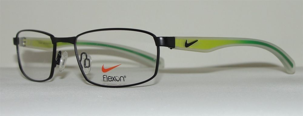 03fd3e037b334 New Nike Mens Eyeglasses 4255 011 Black Flexon 52 17 140