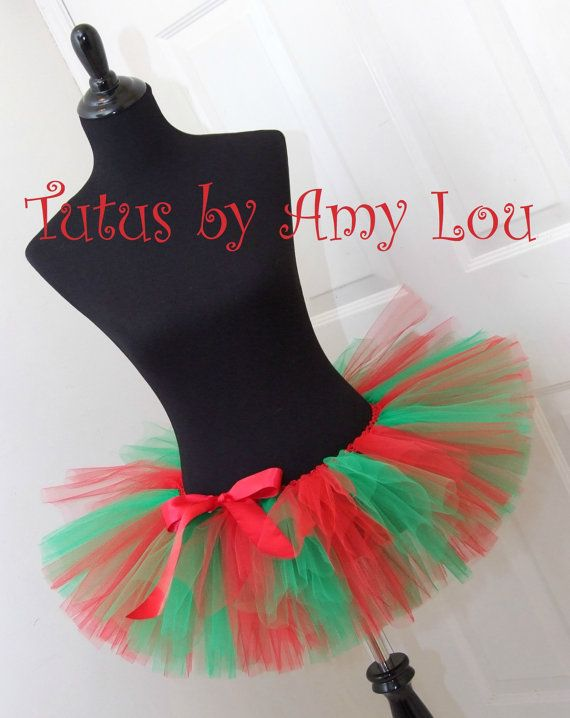 0bc005721a8b7 Tomboy Stripe Christmas Elf Costume Santa Red by TutusByAmyLou | Try ...