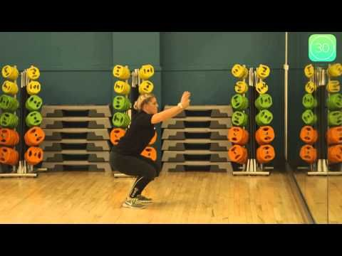 How To Do A Squat Exercise Exercise Fitness Exercice Abdominale