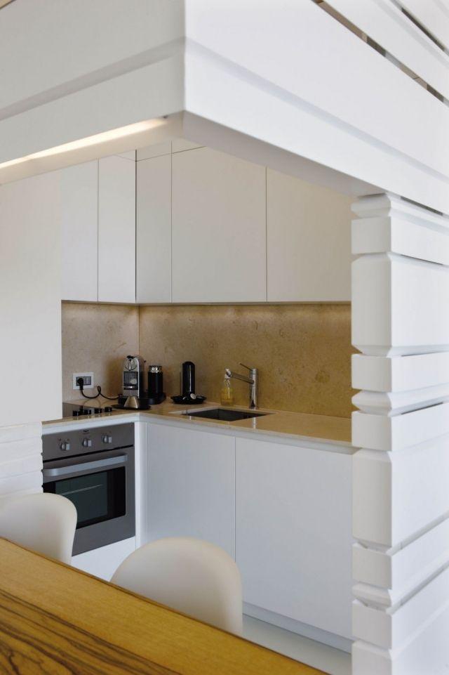 moderne wohnung weiss holz, moderne wohnung innen ganz in weiß und holz gekleidet | moderne, Design ideen
