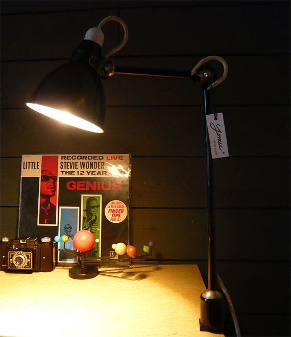 Beautiful Lamp Mazda 1950 Vintage Industrial Style Vintage 1950 Vintage Beautiful Lamp