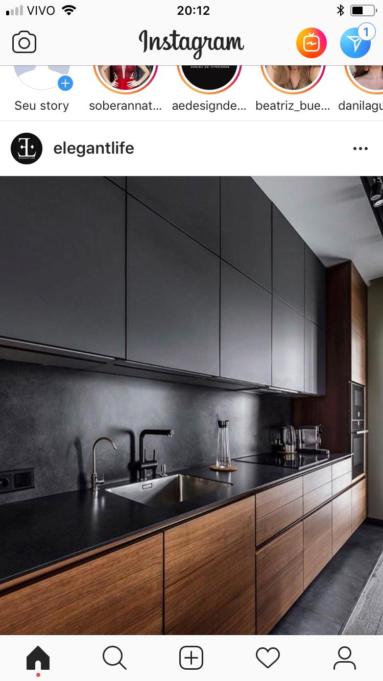 Kitchen Por Itzel Rangel En 2020 Diseno Cocinas Modernas Diseno