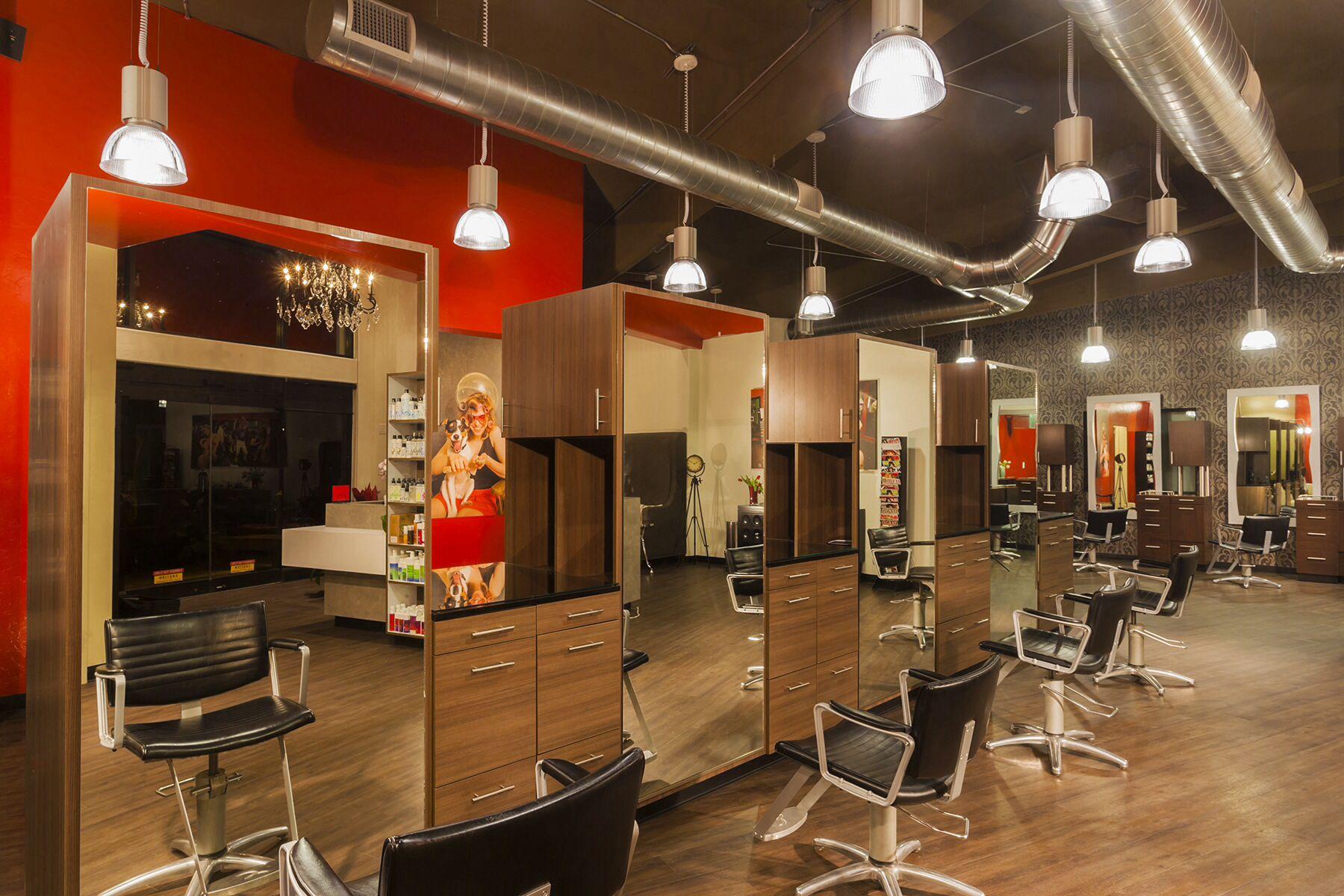 Hair salon decoration idea  Salon interior design, Beauty salon