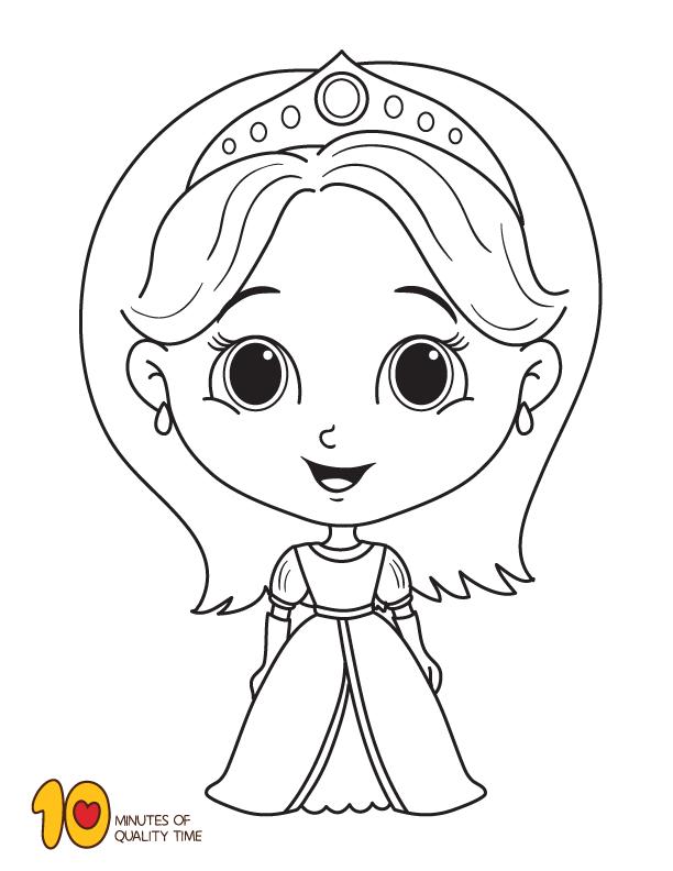 Princess Coloring Page Princess Coloring Pages Princess Coloring Monkey Coloring Pages
