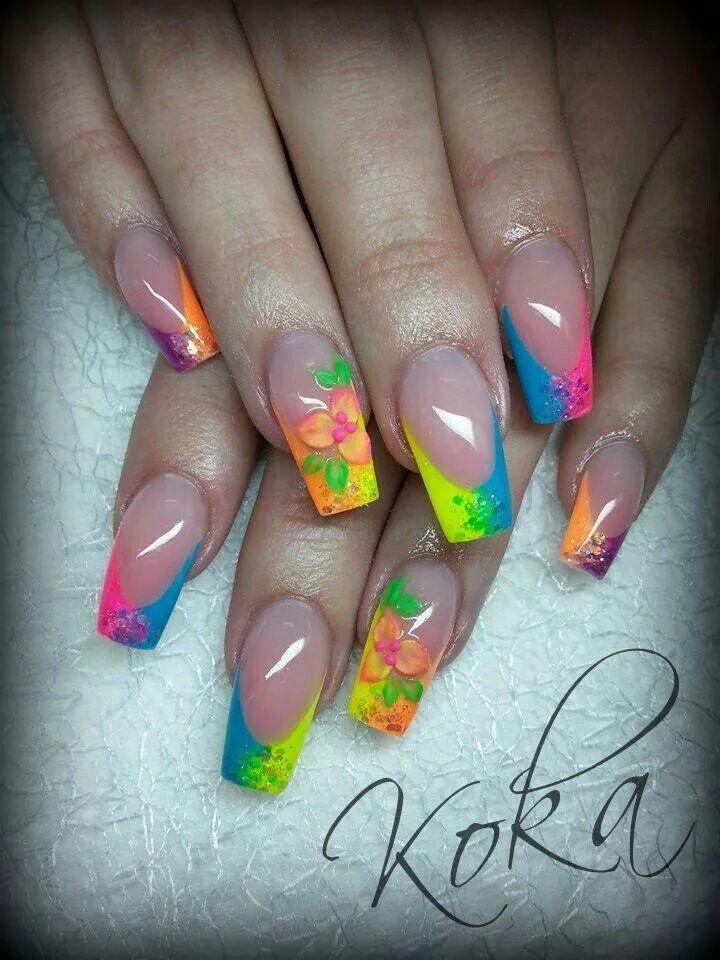 Acrylic nail inspiration | pink nails | Pinterest | Nails ...