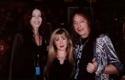 Stevie With Ace Frehley Kiss Guitarist His Wife Stevie
