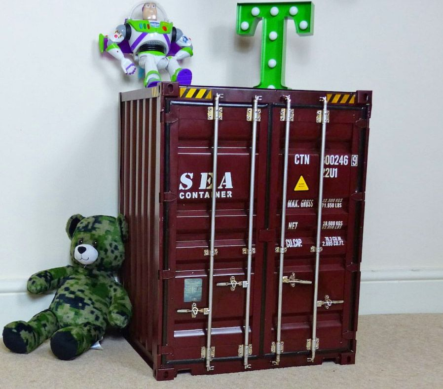 Shipping Container Storage Cabinet | Unique Gifts | Pinterest ...