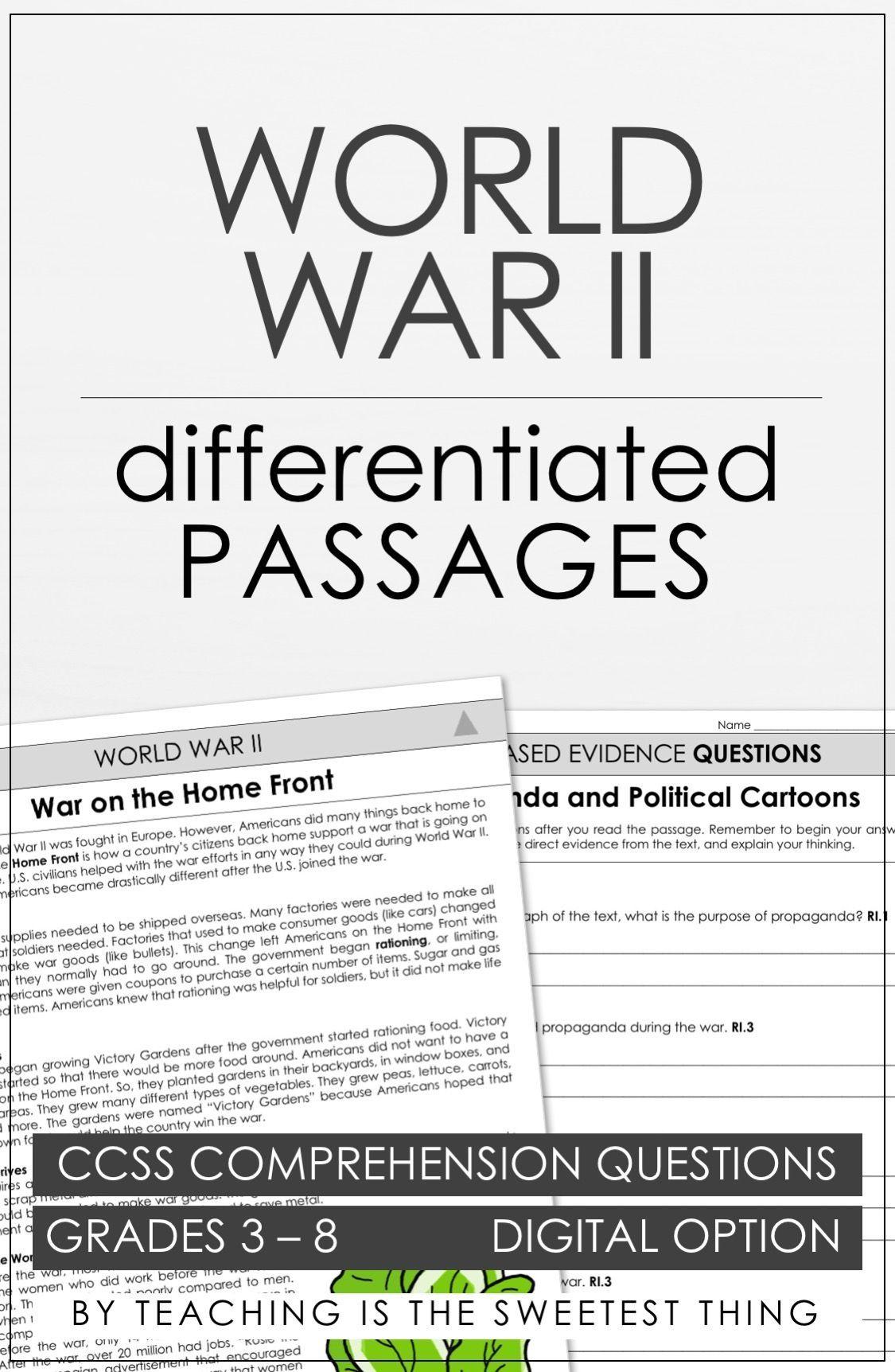 World War Ii Passages Vol 3