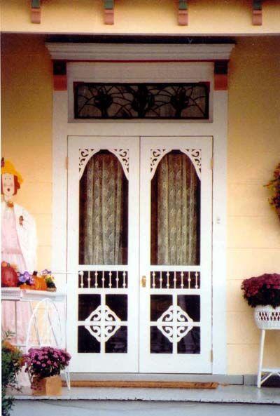 Old Screen Porch Door | Slamming Screen Door ~ A Summer Song   On Sutton  Place