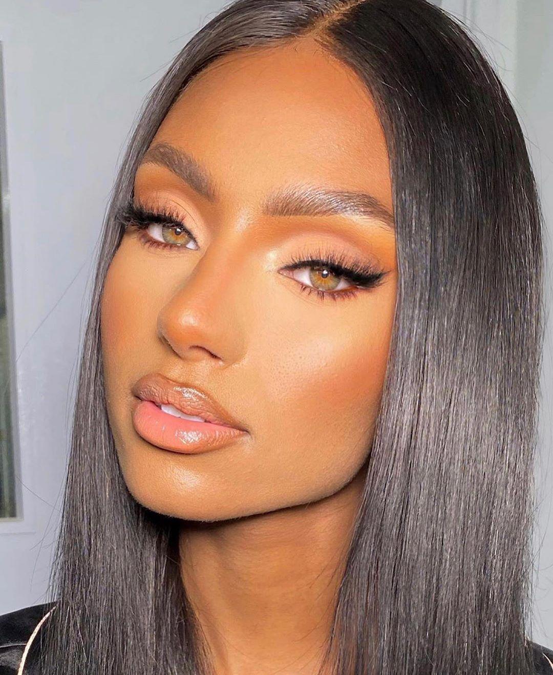 illxlo💎 sydeyjharper in 2020 Dark skin makeup, Skin