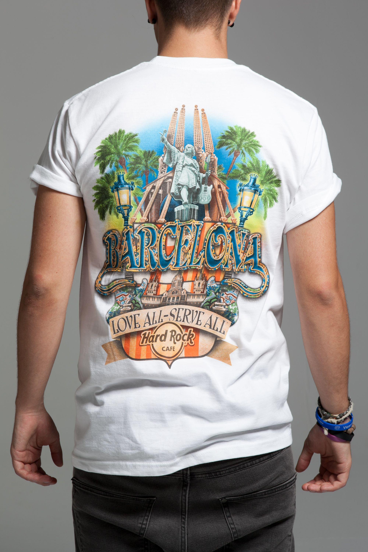 Hard Rock Cafe Barcelona T Shirt