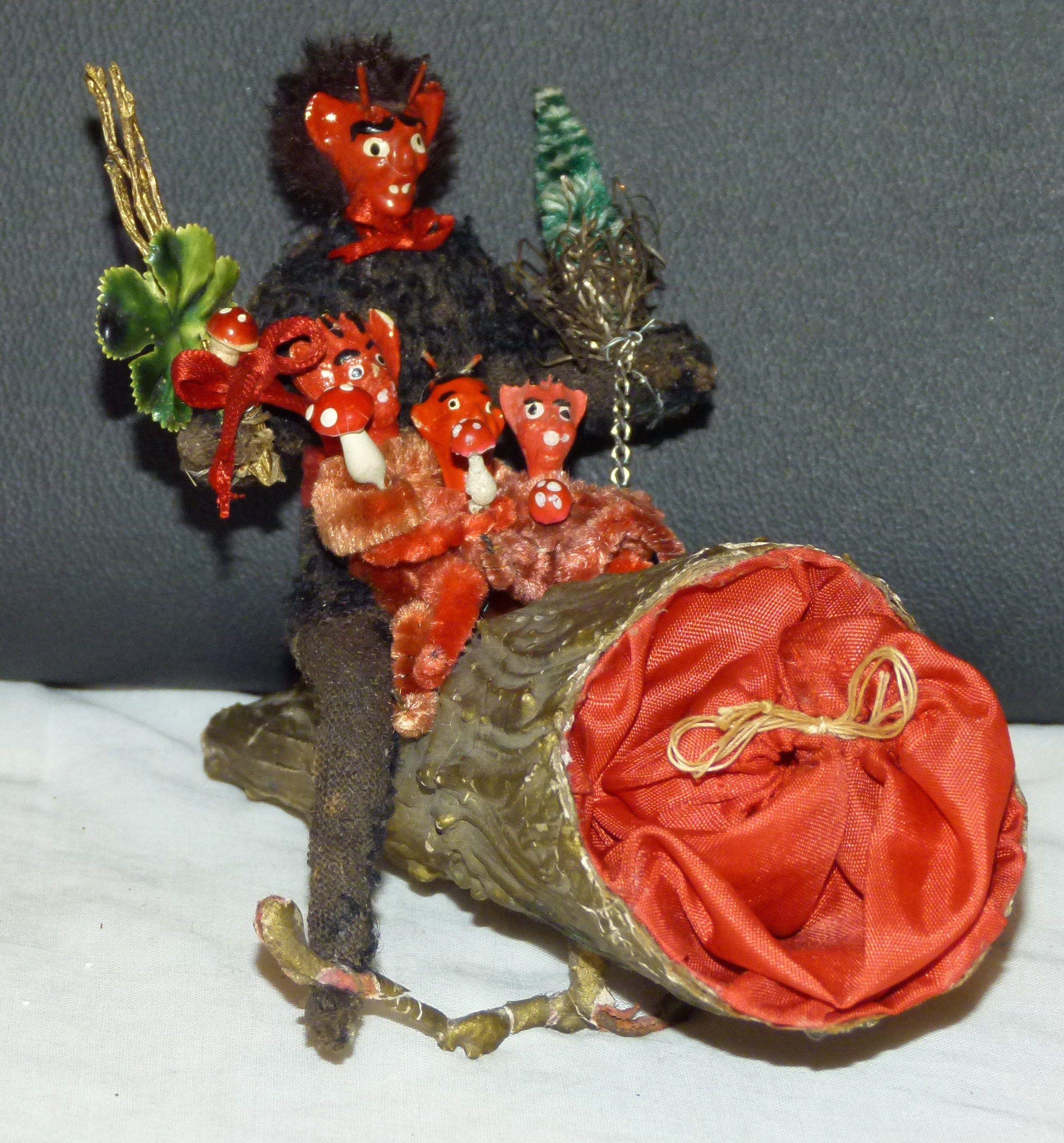Krampus Decoration (With images) | Krampus, Halloween ...