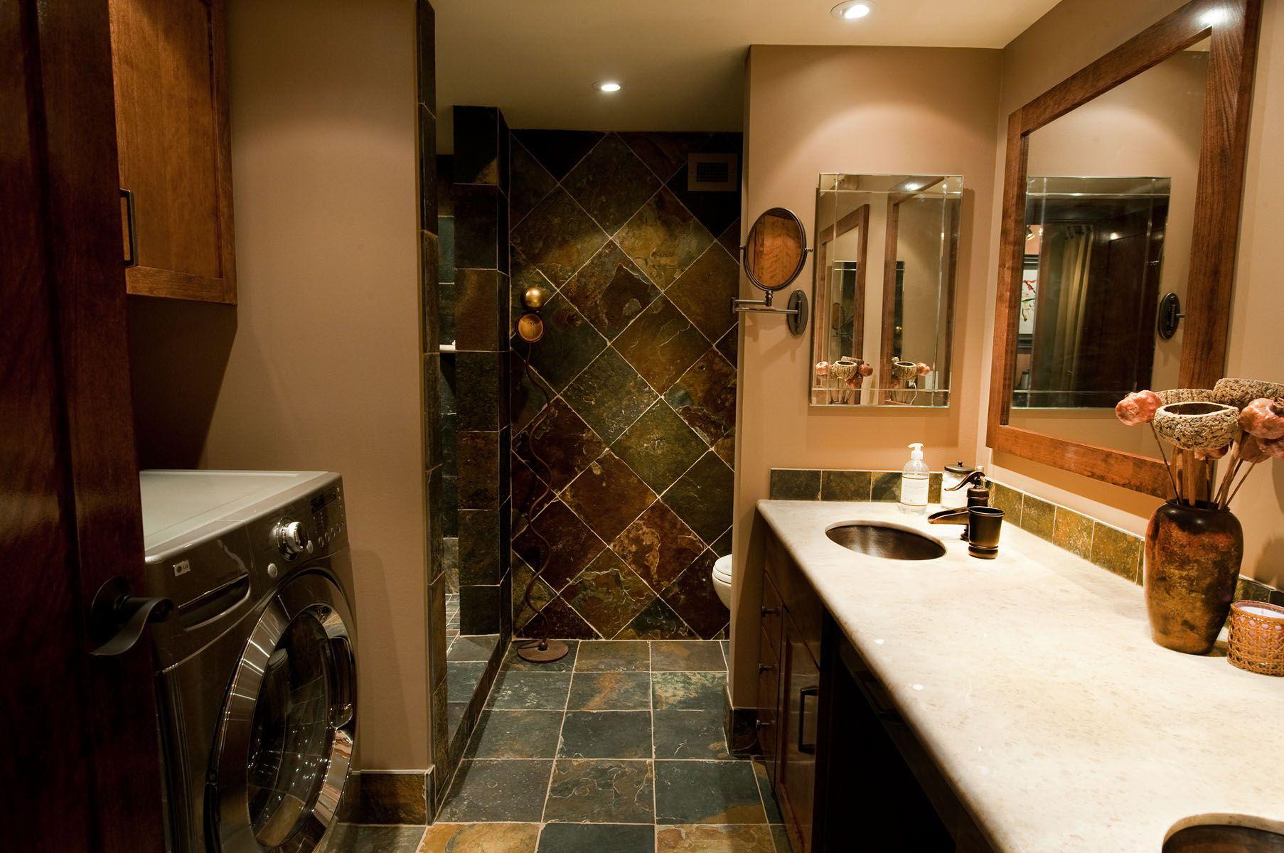 17 Images About Bathroom On Pinterest Slate Bathroom Tiles For Bathrooms And Slate Shower 17