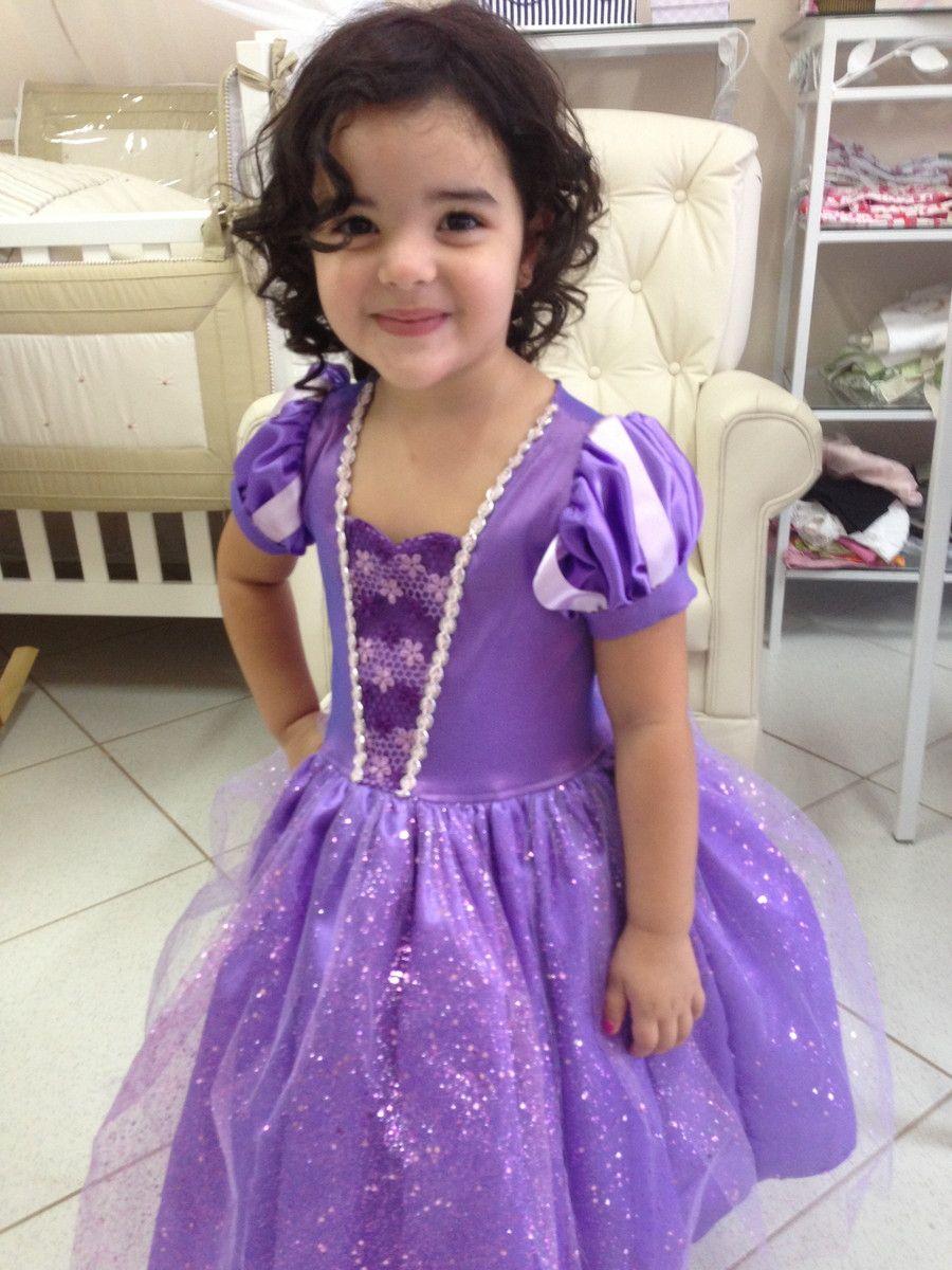 Vestido princesinha sofia   Pinterest   Princesa sofía, Princesas y ...