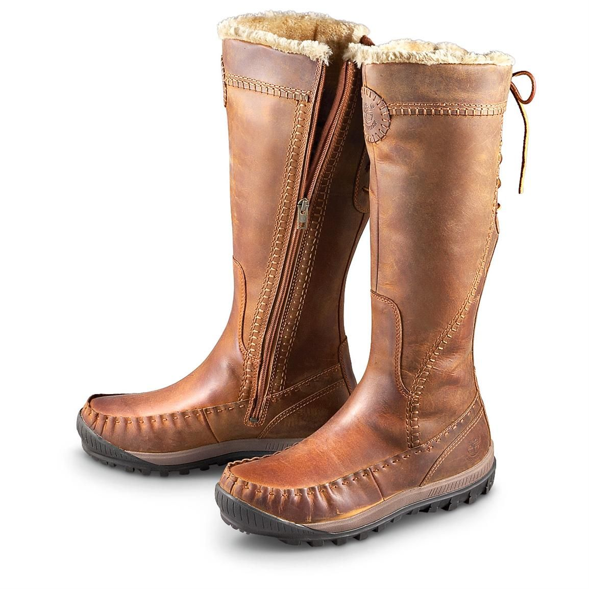 Cool: Women's Timberland(R) Earthkeepers(TM) Mount Holly Boots, Brown