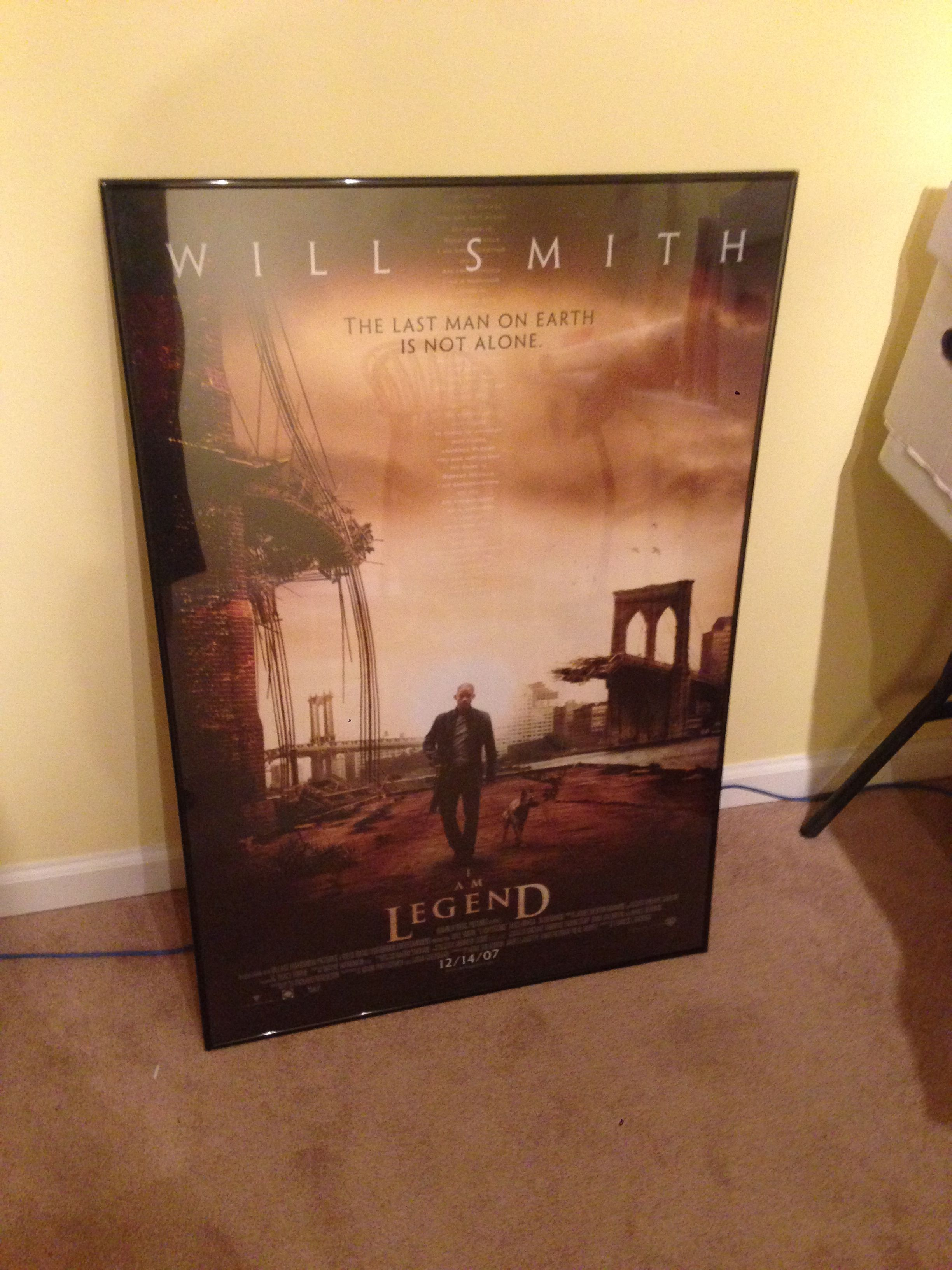 I Am Legend 27x40 Movie Poster My Advice To All There Are Many