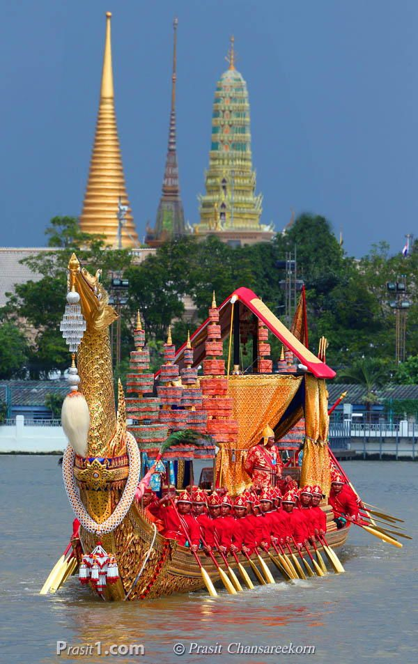 Photograph Royal Barge Procession, Bangkok by Prasit Chansareekorn on 500px   - Explore the World with Travel Nerd Nici, one Country at a Time. http://TravelNerdNici.com