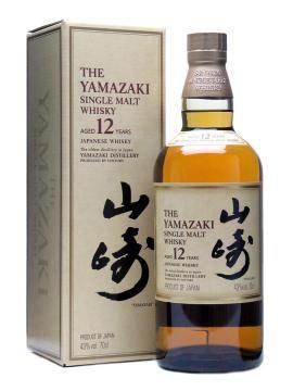 Suntory Yamazaki 12 Year Old Japanese Whisky Single Malt Whisky Malt Whisky