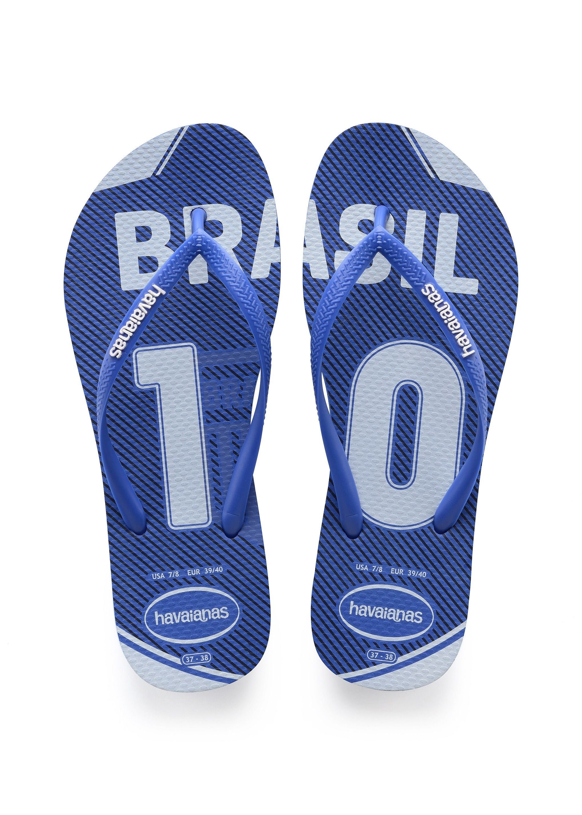 0067d1a9b2e0 Havaianas Slim Teams Sandal Blue Star Price From  £20.85 Roxy