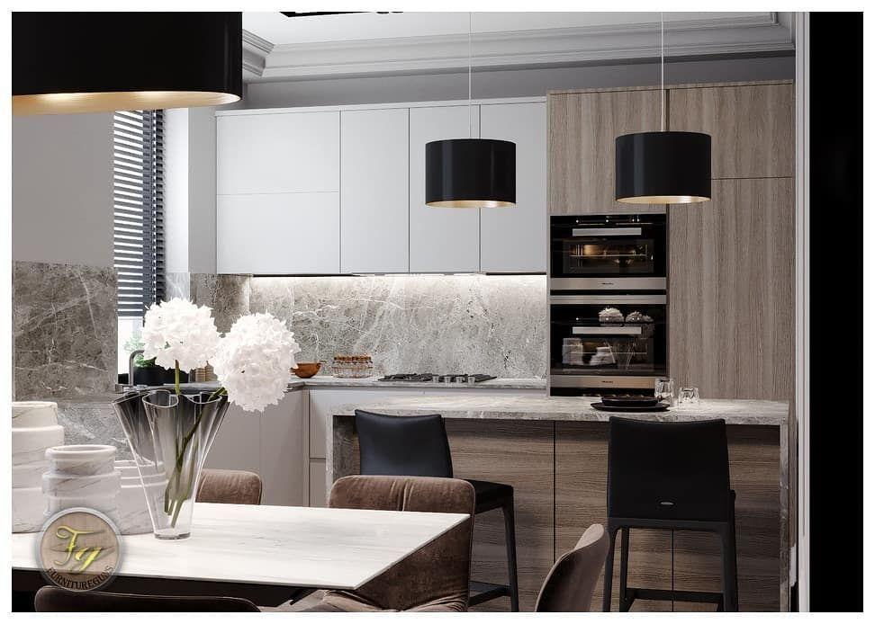 Design Interior Kitchen Set Memaksimalkan Ruangan Sudut Untuk Area