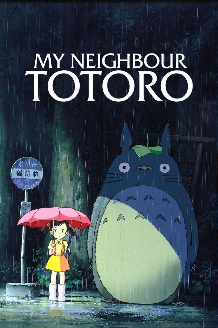Movie Posters Totoro, Totoro movie, My neighbor totoro