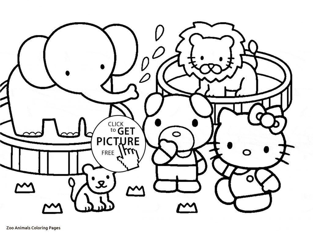 Zoo Animals Coloring Pages Coloring Page Remarkable Zoo
