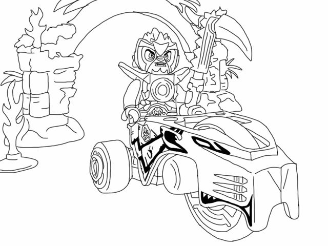 Coloring festival: Lego chima coloring pages worriz pictures |More ... | 480x640