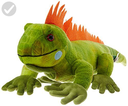 "15"" Green Iguana Soft Toy - Plush cuteness (*Amazon Partner-Link)"