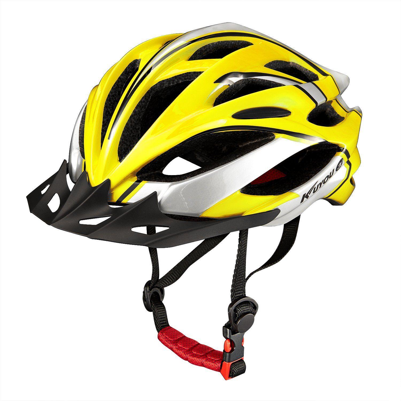 Amazon Com Kuyou Adult Road Mountain Cycling Bike Helmet Use