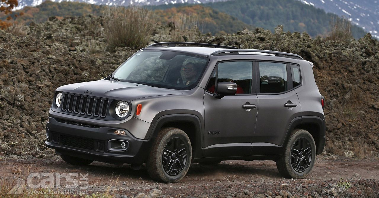 Jeep Renegade Night Eagle Limited Edition Arrives In The Uk Price From 21 595 Cars Uk Jeep Renegade Jeep Jeep Renegade Trailhawk