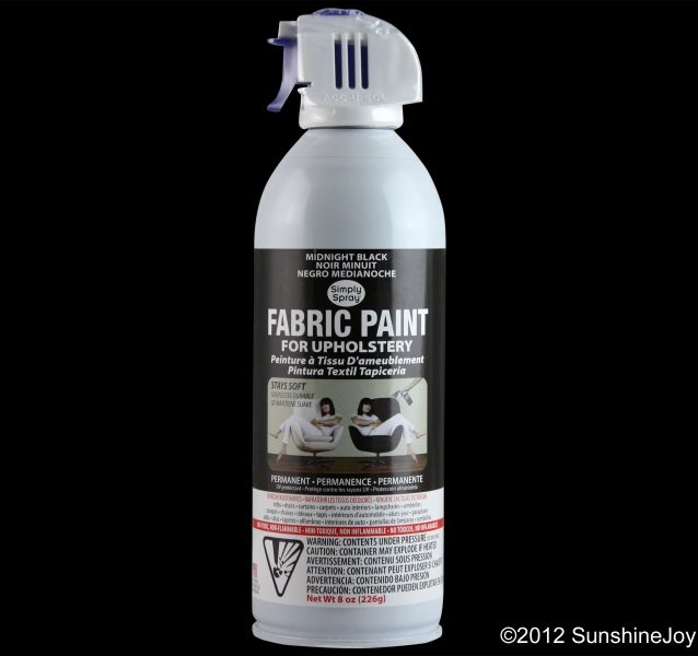 Simply Spray Is A Permanent Aerosol Fabric Paint Not Dye It Non Toxic Flammable And Completely Safe You Can Your Upholstery Instantly