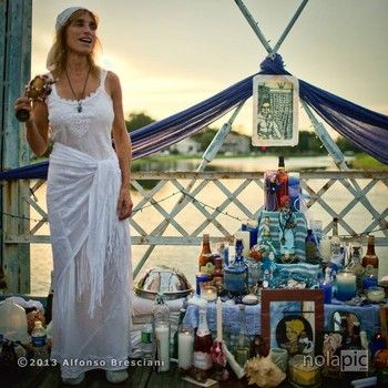 Sallie Ann Glassman - Voodoo Priestess, Island of Salvation Botanica, New Orleans Healing Center. I've been there. | Voodoo priestess, Priestess, Vodou