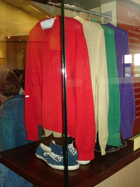 The Fred M Rogers Center At Saint Vincent College In Latrobe Pennsylvania Mr Rogers Sweater Collection Latrobe Mr Rogers Sweater Sweater Collection