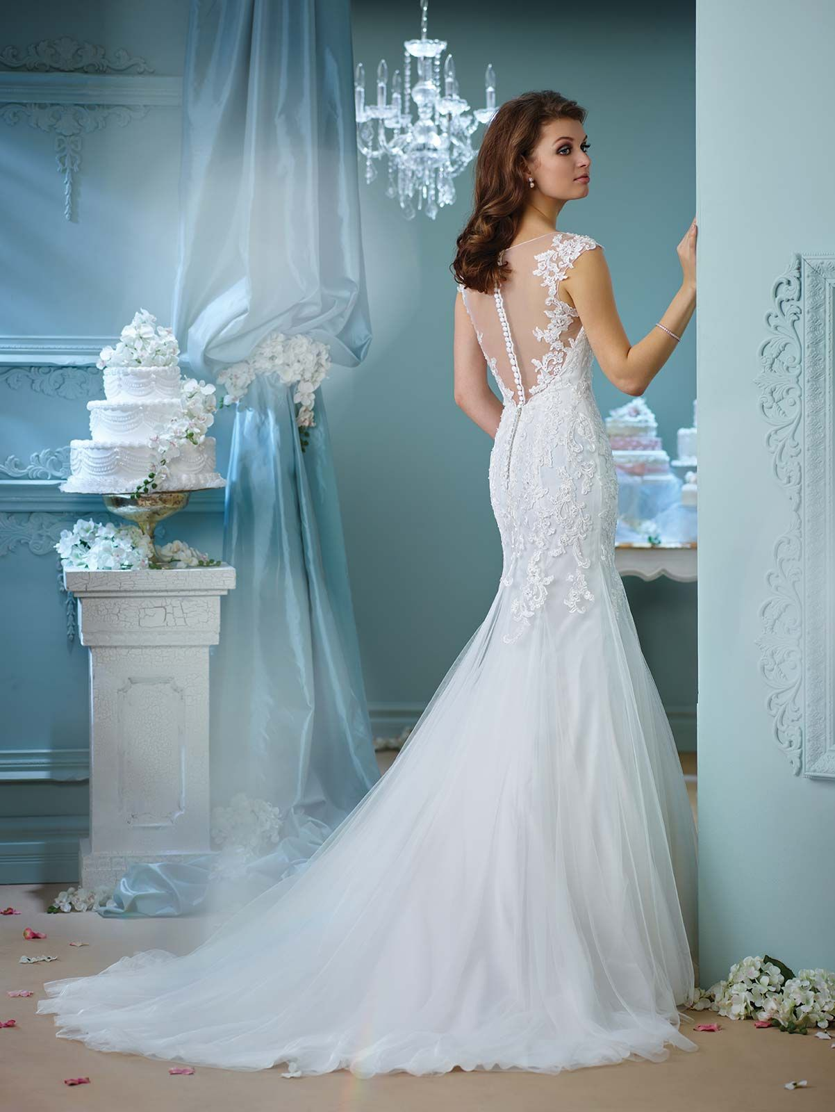 Enchanting 216156 | Mon Cheri Bridals | Dress | Pinterest