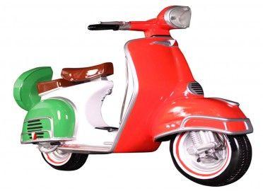 Objet Déco Design Scooter Italien En Résine TexArtes Chez Www.ksl Living.fr